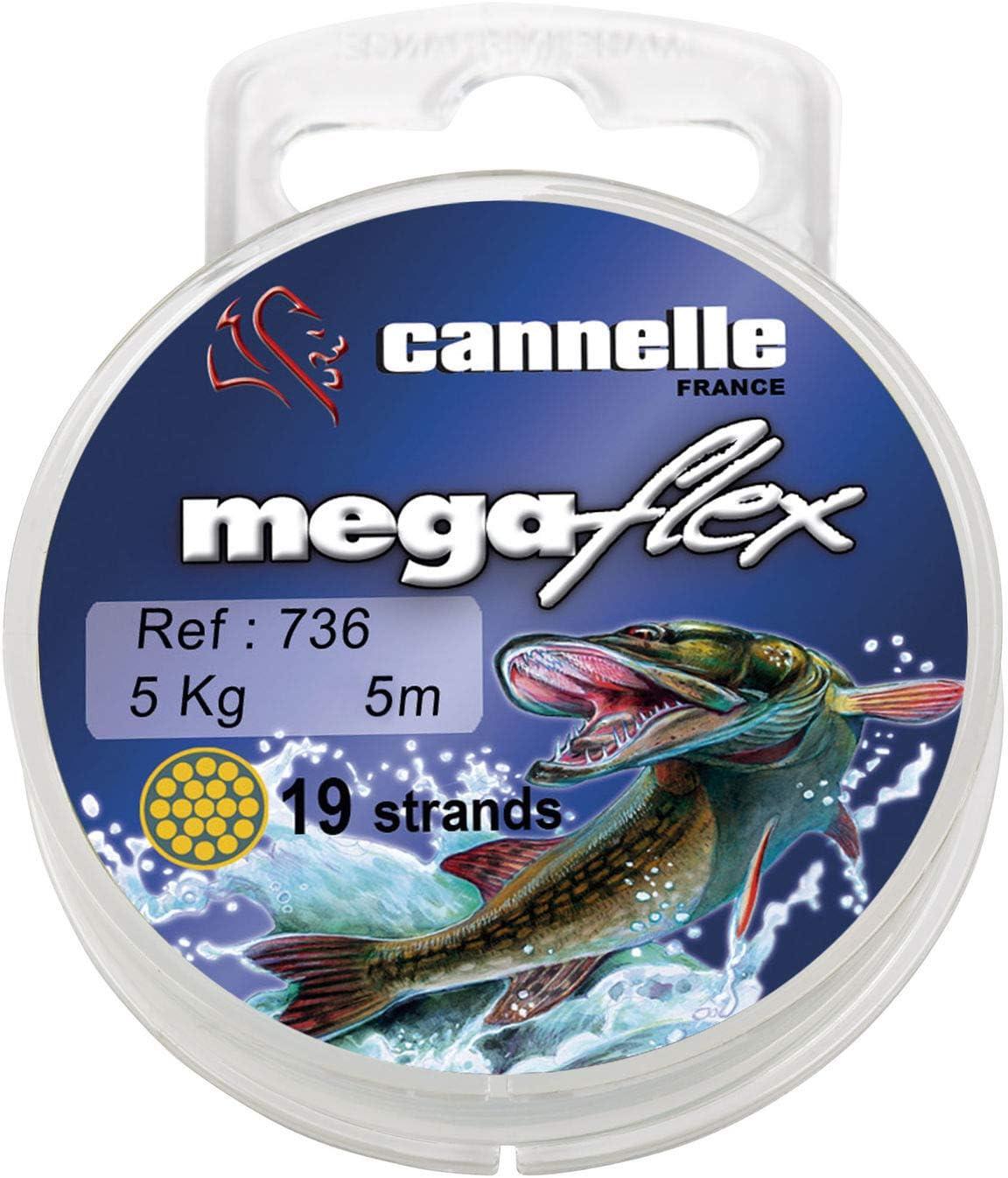 Cannelle Multiflex 736 19 Strands 5m Tragkraft 11kg Vorfachschnur