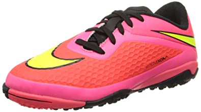 Nike Junior Hypervenom Phelon Turf (Bright Crimson Volt) (1.5) cff70460ce6a
