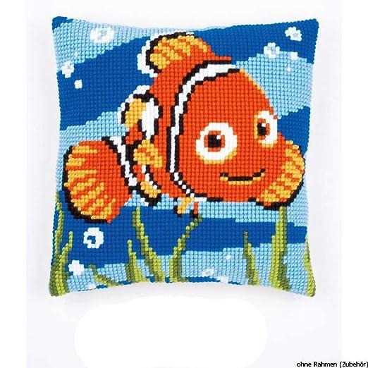 Vervaco – Kit para cojín de Punto de Cruz Nemo