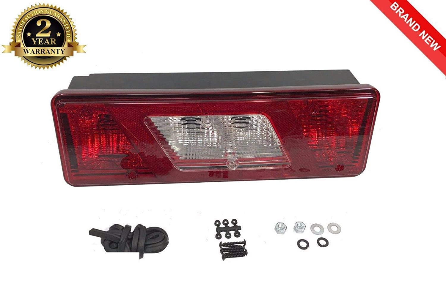 Transit Parts Transit MK8 2014 On Left Side Tipper Chassis Cab Rear Tail Light Lamp Lens
