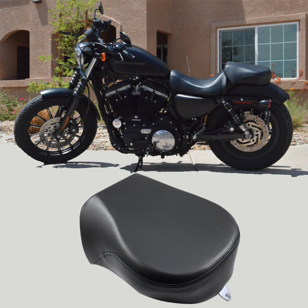 Rear Passenger Seat Pillion Cushion Pad For Harley Sportster Iron 883L 883XL 883C 883N 1200 XL 2007-2015