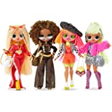 L.O.L. Surprise! O.M.G. 4 Pack – Complete Collection of Series 1 - Four Fashion Dolls with 80 Surprises