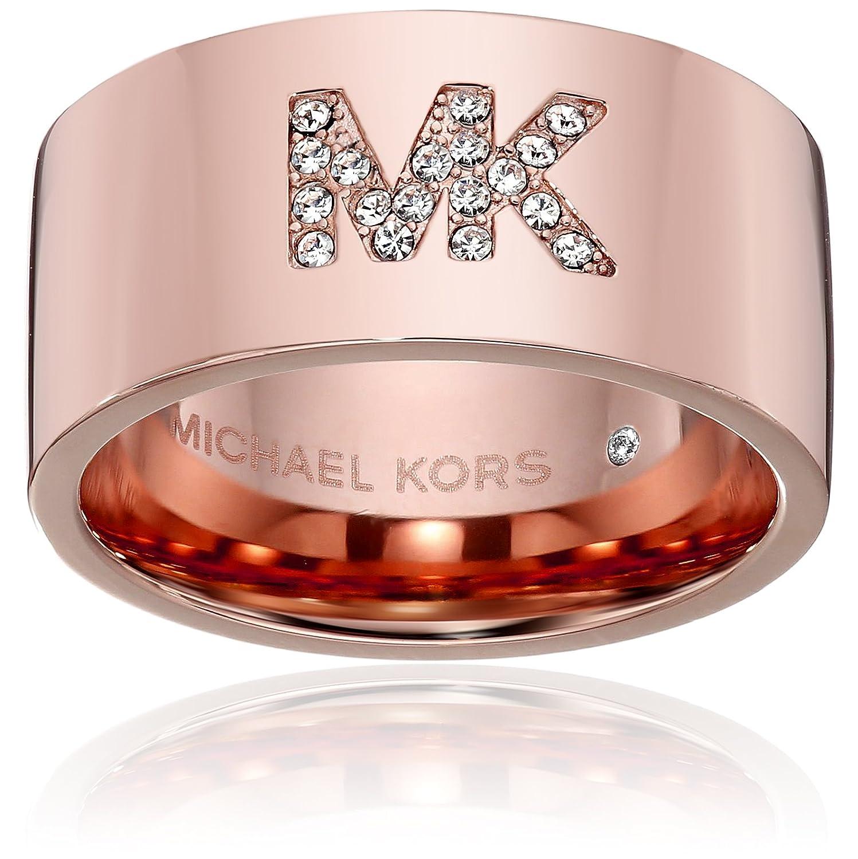 Amazon.com: Michael Kors MK Pave Logo Ring: Jewelry