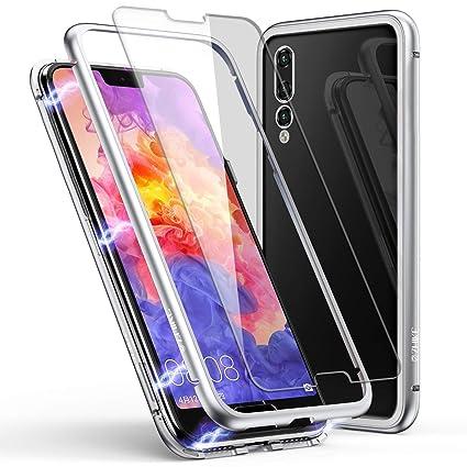 Amazon.com: Funda para Huawei ZHIKE con marco de metal y ...