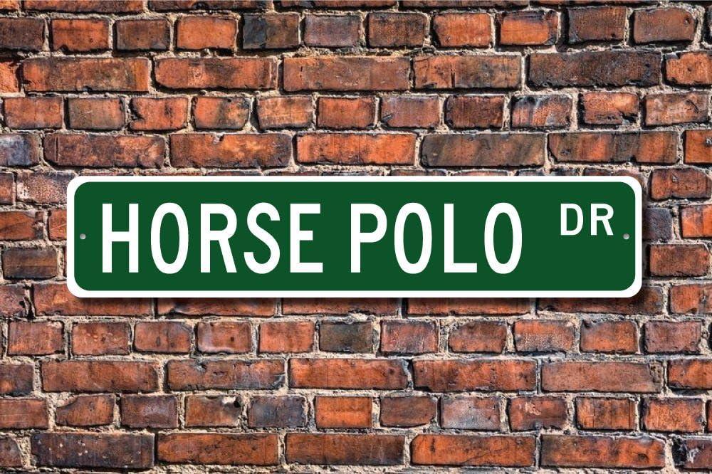 CELYCASY - Señal de polo de caballo, polo, caballo, polo, polo ...