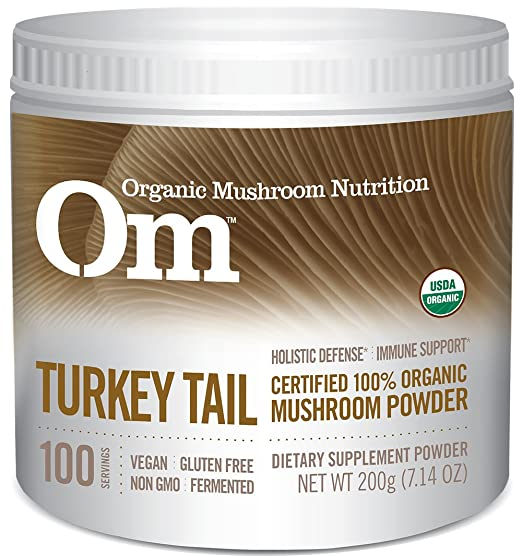 Om Organic Mushroom Nutrition Turkey Tail, 7.14 Ounce