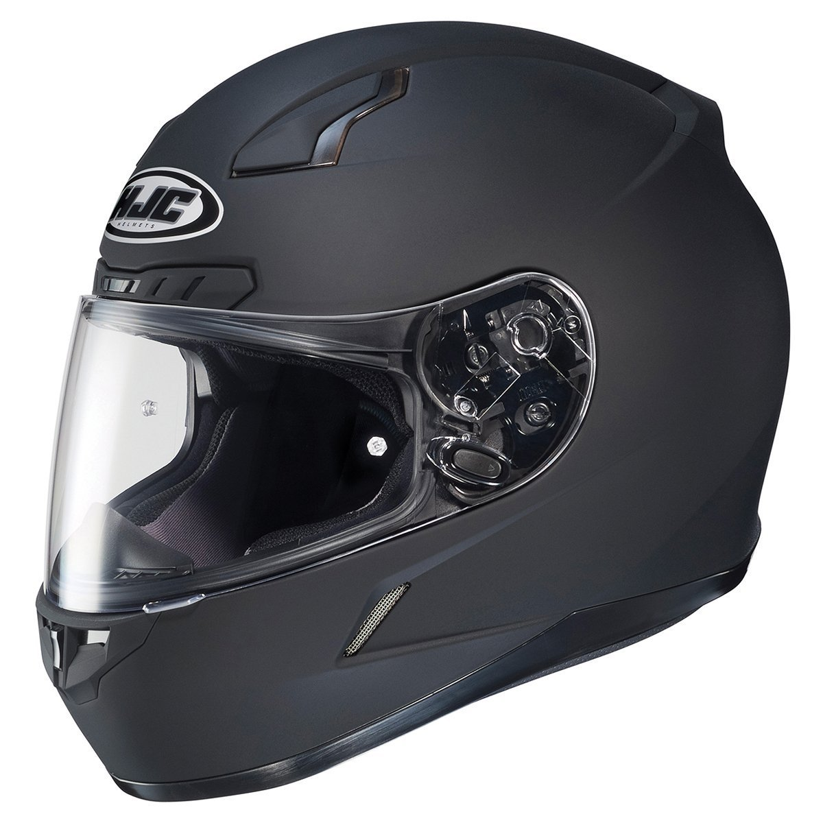 HJC 824-585 CL-17 Full-Face Motorcycle Helmet (Matte Anthracite, X-Large)