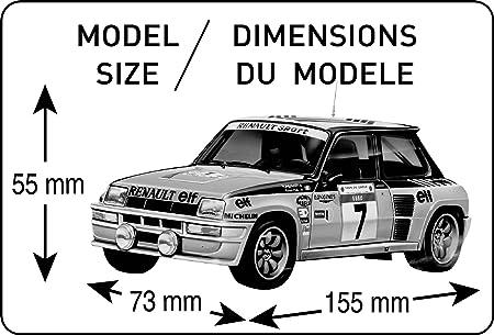 Heller - 80717 - Maqueta para construir - Renault R5 Turbo - 1/24: Amazon.es: Juguetes y juegos
