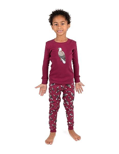 9a07a8493 Amazon.com  Leveret Kids Pajamas Boys Girls 2 Piece pjs Set Animal ...