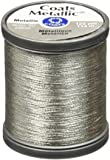 COATS & CLARK Metallic Thread, 125-Yard, Silver