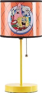 Nickelodeon Spongebob Kids Room Stick Table Lamp