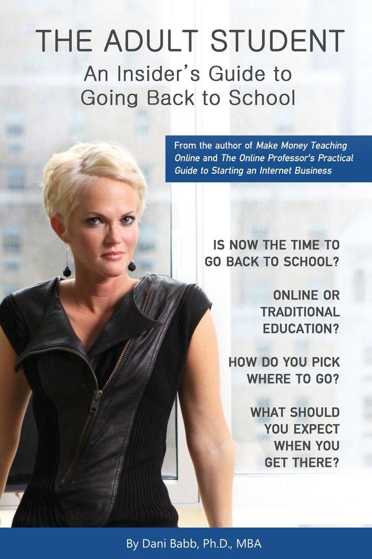 Adult back going school