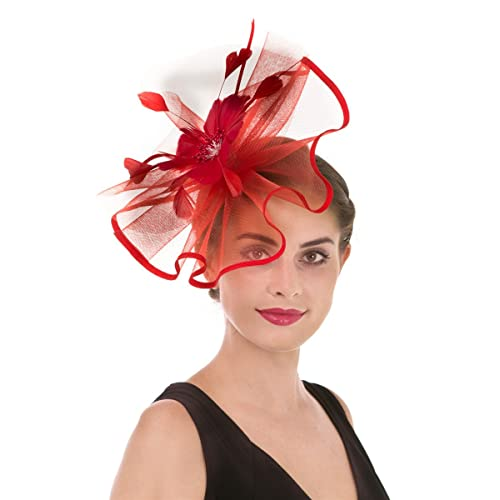 Red Wedding Hats: Amazon.co.uk