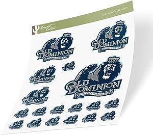Old Dominion University ODU Monarchs NCAA Sticker Vinyl Decal Laptop Water Bottle Car Scrapbook (Sheet Type 3-1)