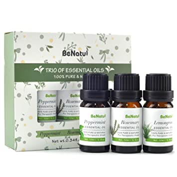 Amazon.com: Benatu Trio de aceites esenciales Set 10 ml cada ...