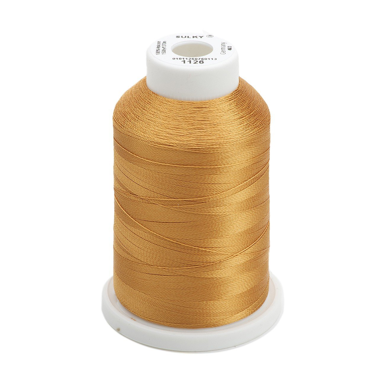 Sulky Of America 944-1025 268d 40wt 2-Ply Rayon Thread, 1500 yd, Mine Gold