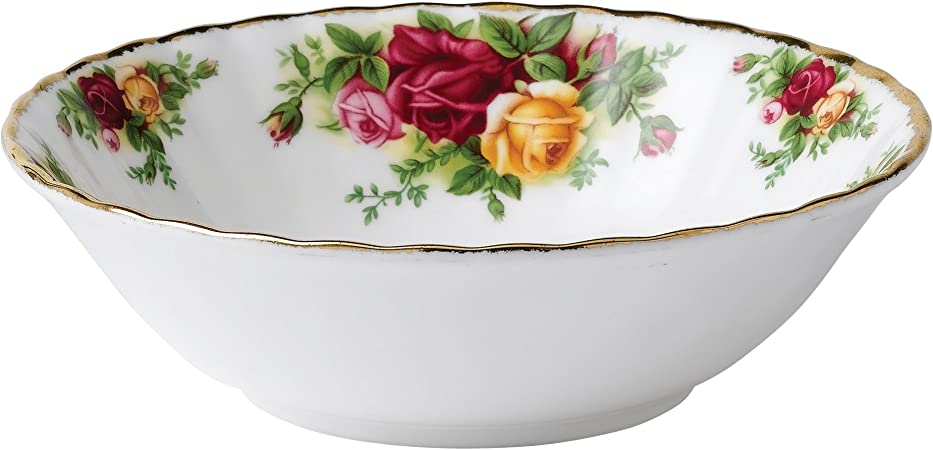 Royal Albert Jubilee Rose Round Open Vegetable Serving Bowl