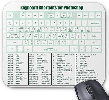N\A Atajos de Teclado de Photoshop Mousepad: Amazon.es ...