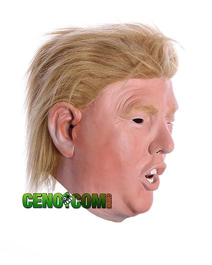 Donald Trump Máscara Carnaval Traje Partido Latex Máscaras del Presidente Donald Trump: Amazon.es: Juguetes y juegos
