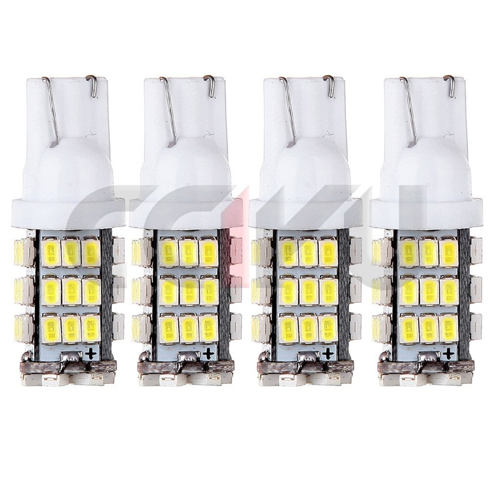 cciyu 2 Pack T10 White Car 42-smd Backup Reverse LED Light Bulb 921 912 906 168 192 W5W