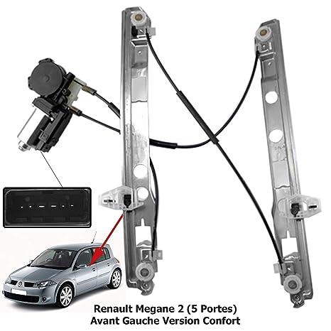 Pour Renault Megane I Lève Vitre Kit De Réparation Clip GLEITSTÜCK Avant gauche