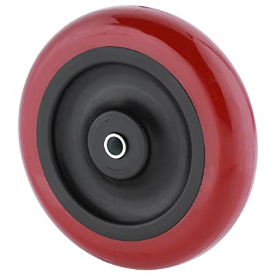 Steelex D2653 Polyurethane Wheel, Red, 5-Inch: Home Improvement