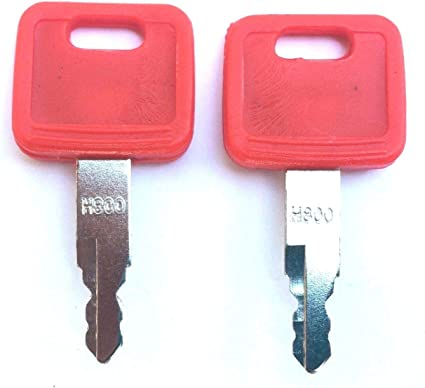 With Plastic Cover Fits John Deere Models Set Of 3 Ignition Key S