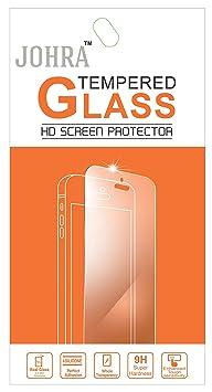 Johra 9H HD+ Real Tempered Glass Screen Scratch Guard Protector for Panasonic Eluga A2 Screen guards