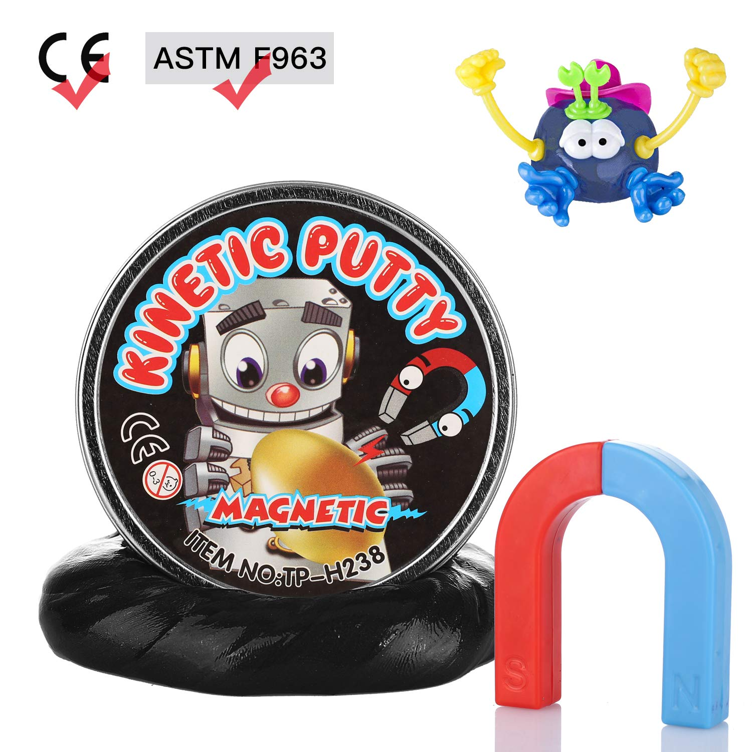 Dmhirmg Acxopt Colourful Slime Bouncing Putty Creative Thinking Diy