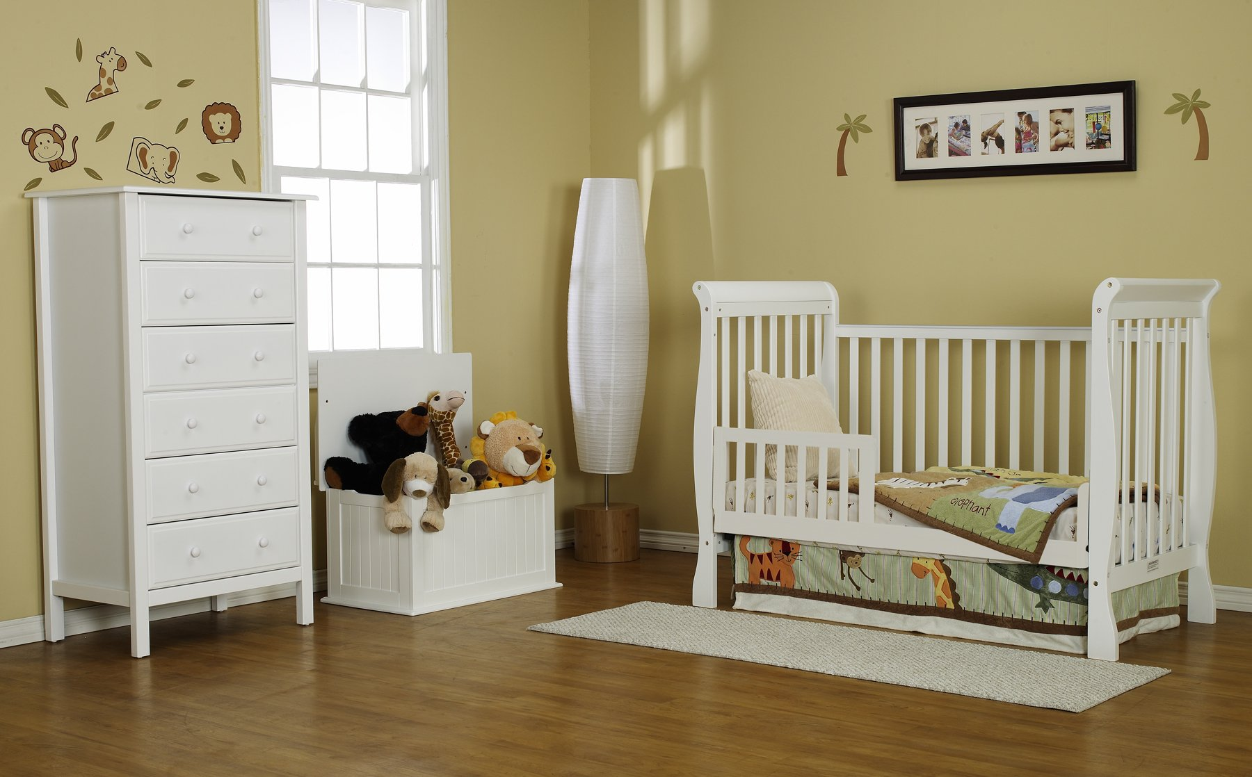 DaVinci Toddler Bed Conversion Kit, White by DaVinci