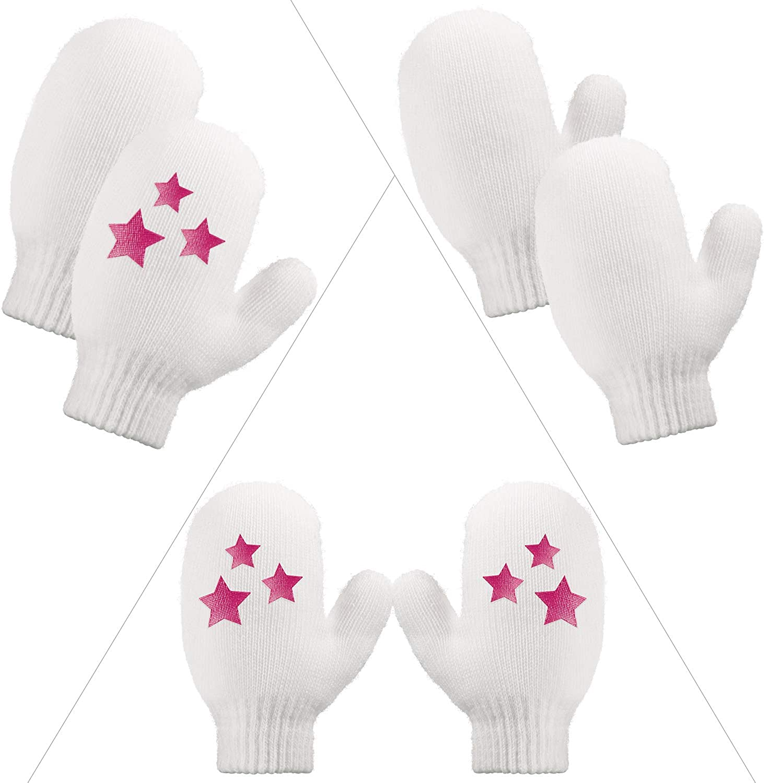 5 Pieces Baby Winter Warm Set Baby Winter Beanie Hat Scarf Toddler Earmuffs Mittens Socks