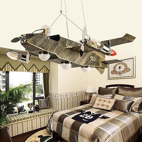 HOMEE Lampadario, camera da letto americana in stile americano per ...