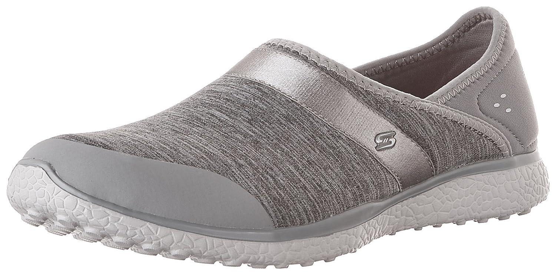 Skechers Women's, Microburst Greatness Slip on Shoe 10 B(M) US|Gray