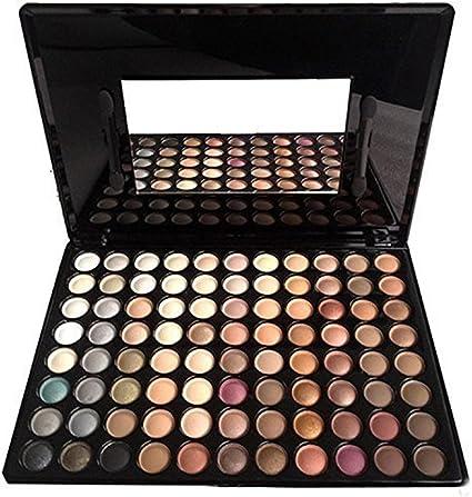 FantasyDay® 88 Colores Sombra De Ojos Paleta de Maquillaje Cosmética #1 - Perfecto para Sso Profesional y Diario: Amazon.es: Belleza