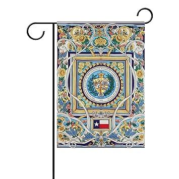 Outdoor Decor Flag - Boarse Distinctive Welcome Garden Decor Flag