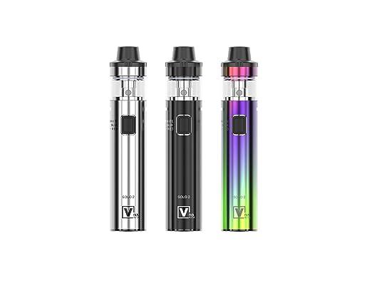 Cigarrillo Electrónico,VIVAKITA SOLO 2 3000mAh 50W cigarro electronico Box Mod Kit, 4ml Tanque de Relleno a Tope,Sub Ohm 0.2ohm E-Cigarrillo Sin Nicotina y ...