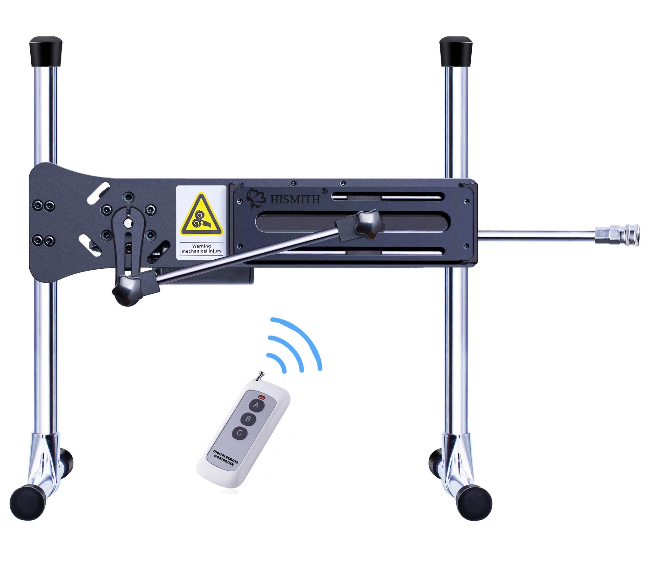Hismith Remote Control Sex Machine,Premium Automatic Sex Machine for Women,Love Machine with Dildo 3 Attachments