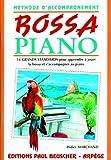 Partition : Bossa piano methode d'accomp. D. Marchand