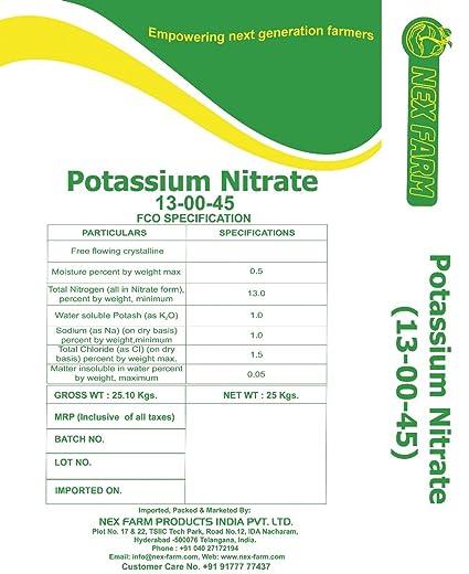 NEXFARM's Potassium Nitrate NOP 13-00-45 1 Kg