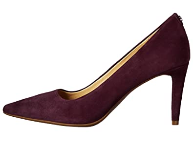 a5c946ebab Amazon.com | Michael Kors Womens Dorothy Flex Pump Leather Pointed Toe,  Damson, Size 5.0 | Pumps