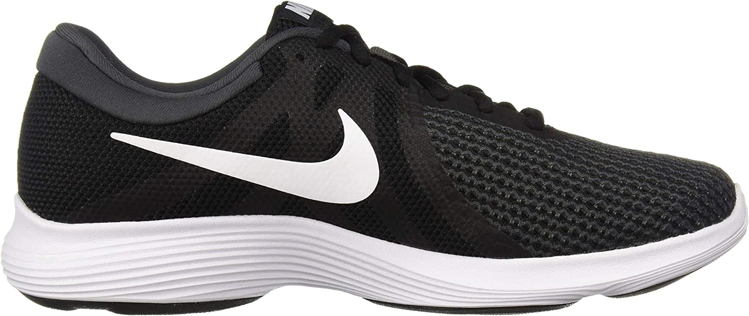 Nike Men's Revolution 4 Running Shoe Black/White/Anthracite