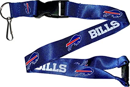 5e5bdb8521f Image Unavailable. Image not available for. Color  aminco NFL Buffalo Bills  Team Lanyard ...