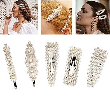 Elegant Frau Haar-Zusätze Haarspange Haarklammer Kristall Haarnadel