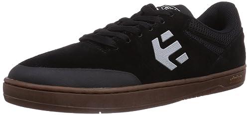 Etnies Marana - Zapatillas De Skate de cuero hombre, color negro, talla 38