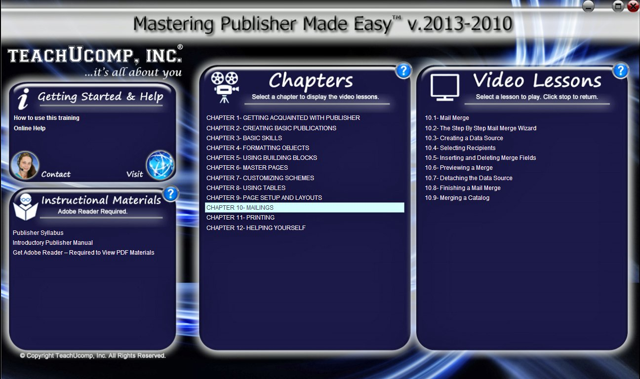 Amazon mastering microsoft publisher 2013 and 2010 made easy amazon mastering microsoft publisher 2013 and 2010 made easy video training tutorial dvd rom course baditri Choice Image