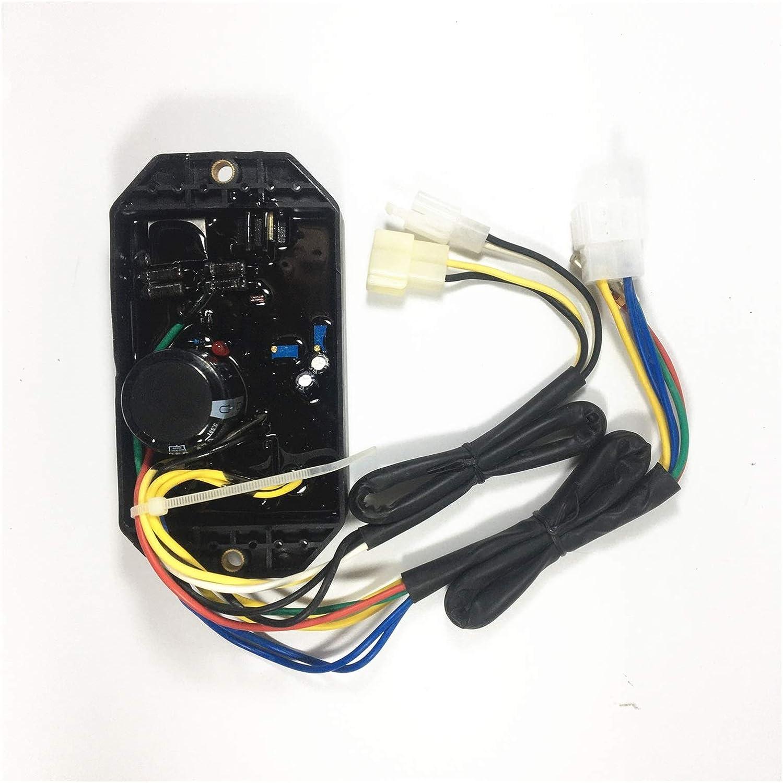 HXFANG® KI-Davr-50S AVR regulador de Voltaje automático en Forma for KIPOR KDE6500E KGE6500X KGE6500E 5 KW Monofásico Generador