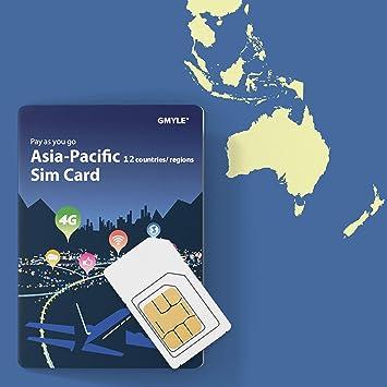 GMYLE China, Tailandia, Corea, Singapur, India etc. Tarjeta ...