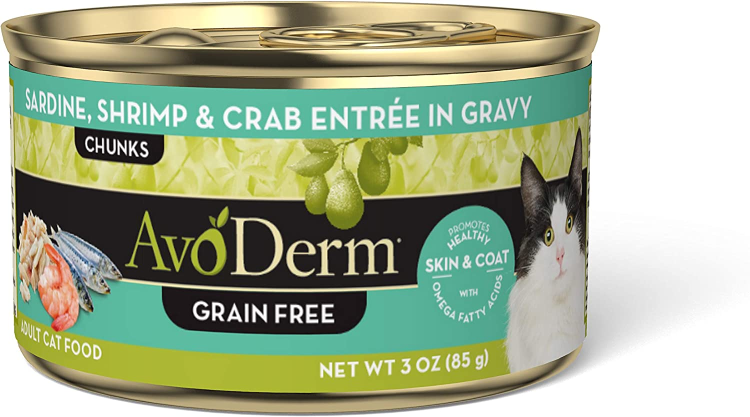 AvoDerm Naturals Sardine and Shrimp Canned Cat Food