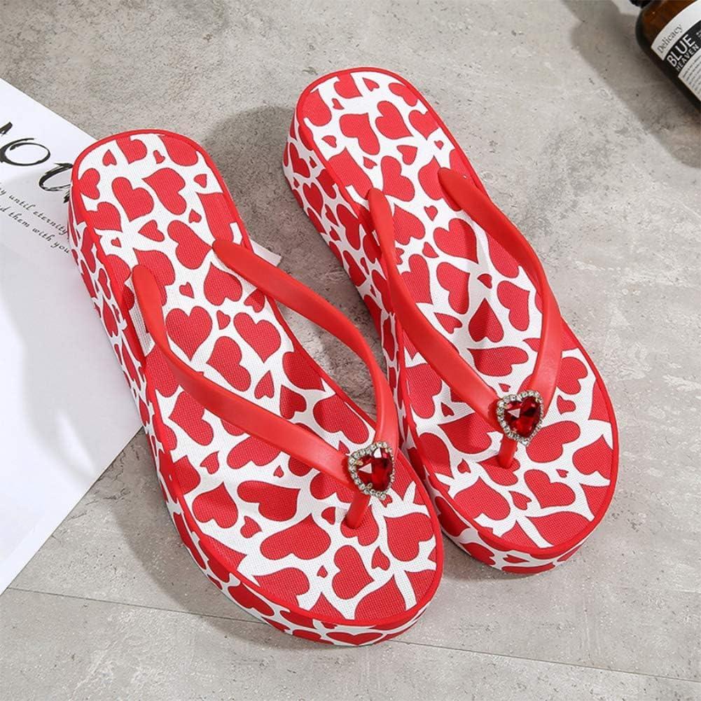 Ladies Womens Flip Flops Slip On Casual Low Wedge Summer Beach Sandals Mules