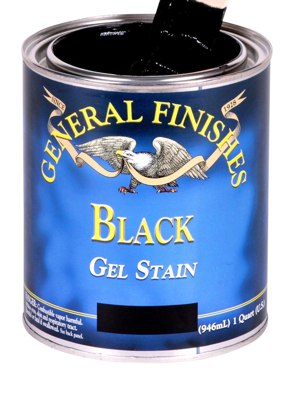 General Finishes ゲルステイン Pint BLP B00MR6890S Pint|ブラック ブラック Pint